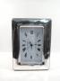 1825 orologio  cornice argento 925, larga, ondulata,  9x13