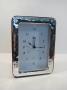 1218 orologio  cornice argento 925, ondulata,  9x13