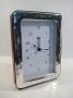 1821 orologio  cornice argento 925, ondulata,  9x13