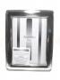 1018 cornice in puro argento 925 massiccio, foto13x18