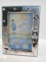 4337 cornice Bimbo, argento 925,gattini,13x18