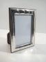 1081 cornice argento 925 moderna,fascia larga,  foto 6x9