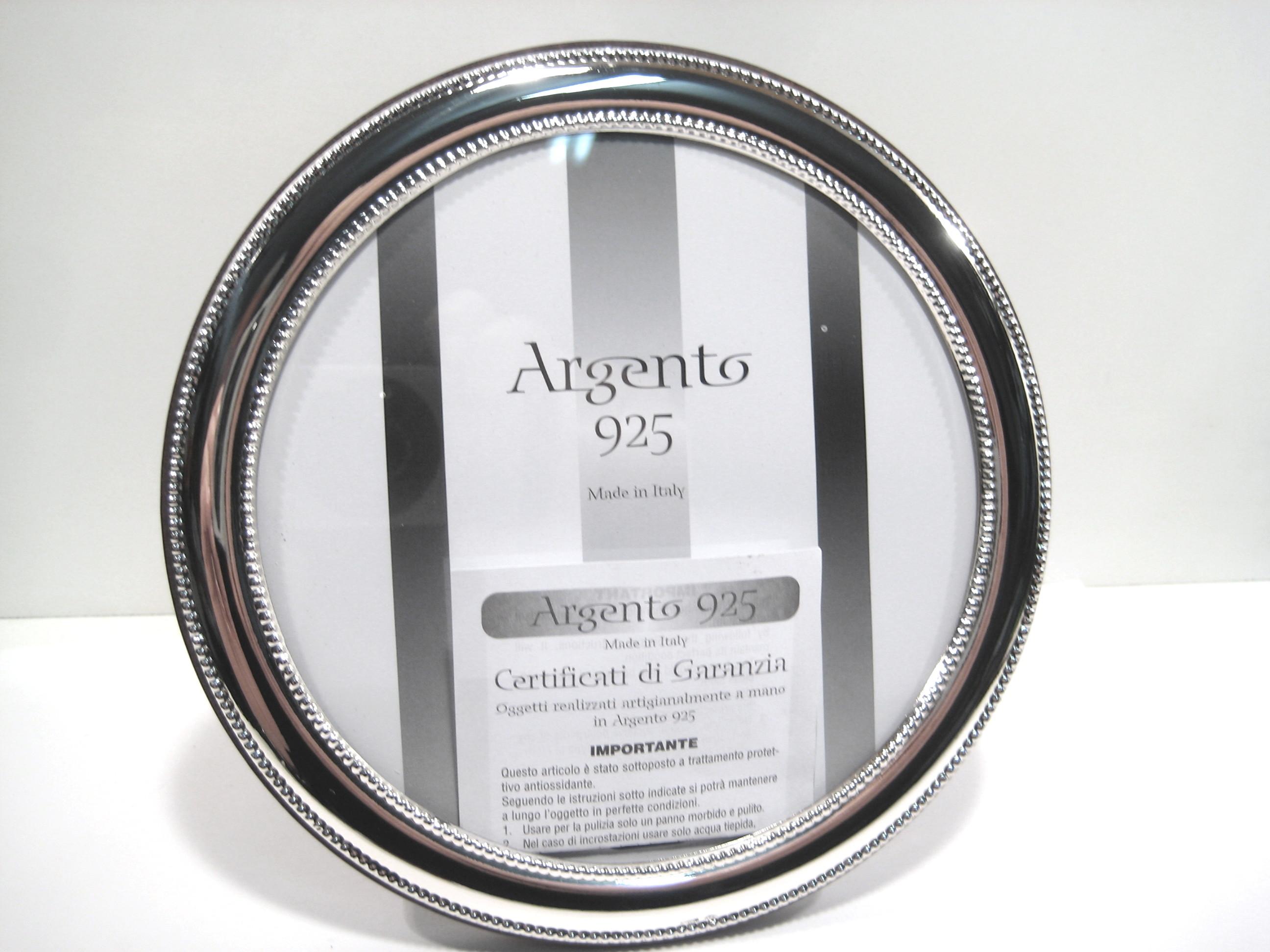 Silverware - cornici in argento 925