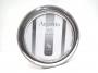 1021 cornice in puro argento 925 massiccio, tonda, foto diametro