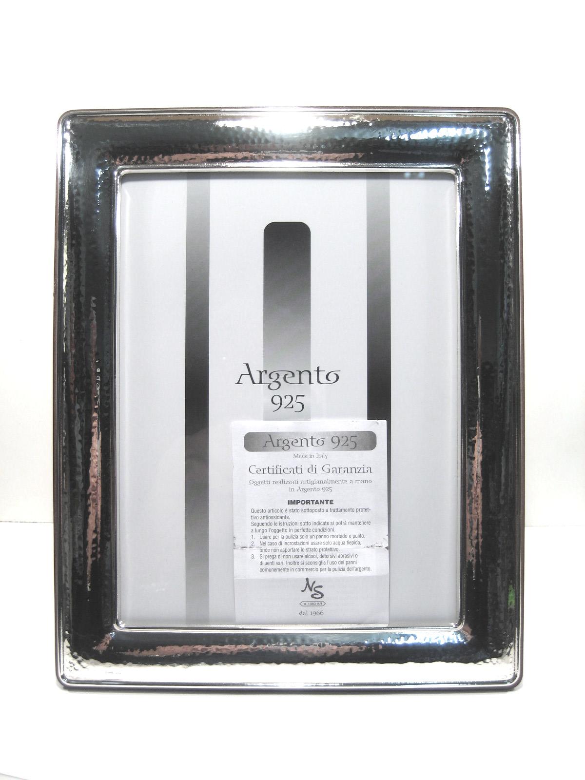 Silverware 1019 cornice in puro argento 925 massiccio for Cornici foto 15x20